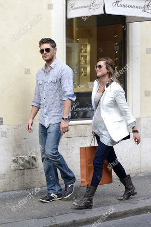 Jensen Ackles and Danneel Harris