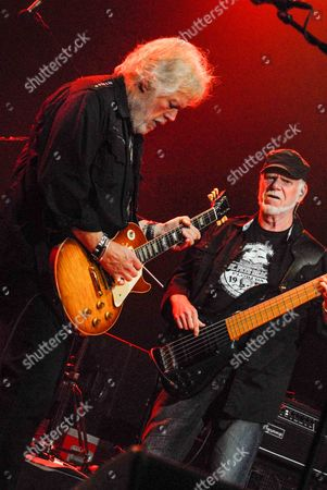 Editorial image of Bachman Turner Overdrive in concert at the Seminole Hard Rock, Hollywood, Florida, America - 30 Apr 2012