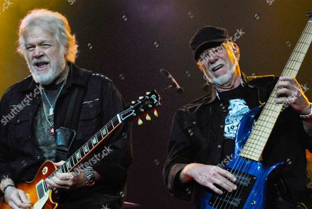 Editorial photo of Bachman Turner Overdrive in concert at the Seminole Hard Rock, Hollywood, Florida, America - 30 Apr 2012