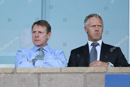 Stuart Pearce and Warren Barton