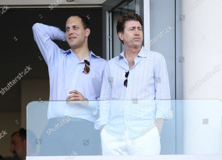 Lord Frederick Windsor and Jim Piddock