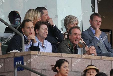 Lord Frederick Windsor, Jim Piddock, Eric Idle and Stuart Pearce