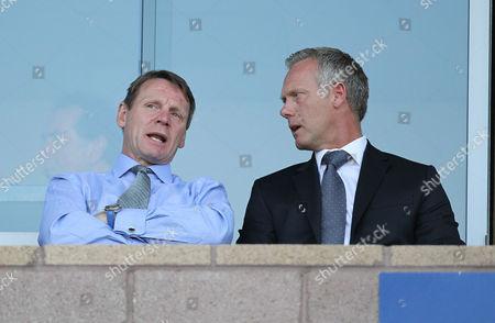 Stock Picture of Stuart Pearce and Warren Barton