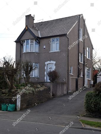 The former home of Peter Sutcliffe, the Yorkshire Ripper in Garden Lane in the Heaton area of Bradford, West Yorkshire. The house is now lived in by his ex wife, Sonia.