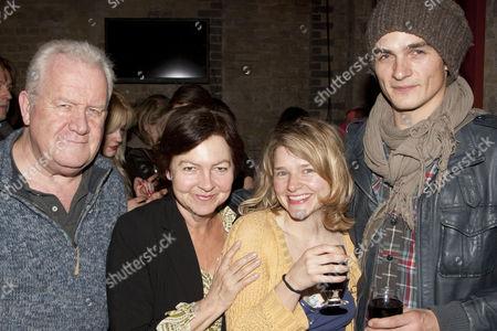 Stock Image of Ian Redford, Tessa Peake Jones, Matti Houghton and Rupert Friend