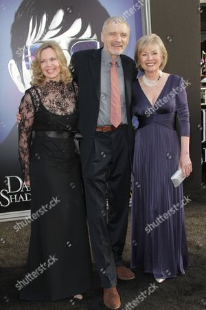 Lea Parker, David Selby and Kathryn Leigh Scott
