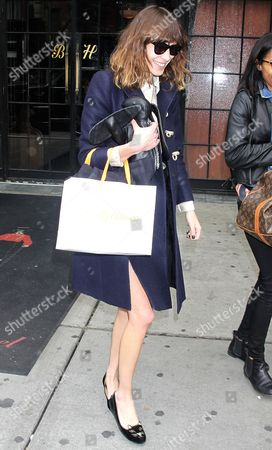 Editorial photo of Alexa Chung  Out and About in New York, America - 08 May 2012