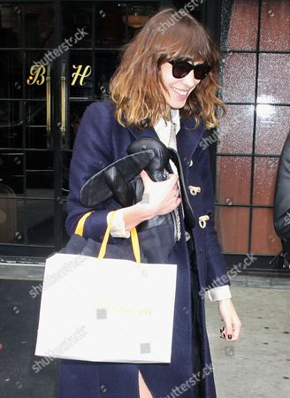 Editorial image of Alexa Chung  Out and About in New York, America - 08 May 2012