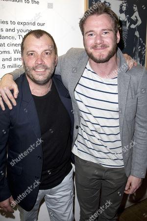Nicolas Tennant (DI Ignatius Stone) and Felix Scott
