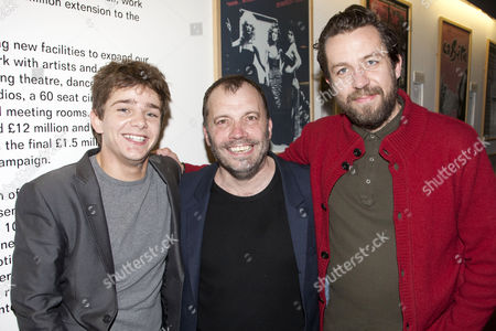 Rupert Simonian (Tommy White), Nicolas Tennant (DI Ignatius Stone) and Ferdy Roberts (DS Charlie Lee)