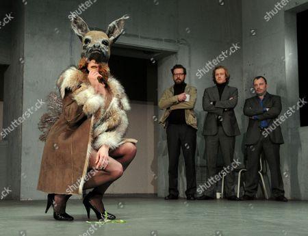 Mirtel Pohla as Hele, Ferdy Roberts as Charlie Lee, Sergo Vares as Translator and Nicholas Tennant as Ignatius Stone