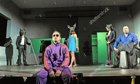 Lasse Myhr as Aleksandr, Mirtel Pohla as Hele and Nicholas Tennant as Ignatius Stone