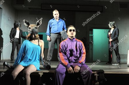 Editorial image of 'Three Kingdoms' play at the Lyric Theatre, London, Britain - 03 May 2012