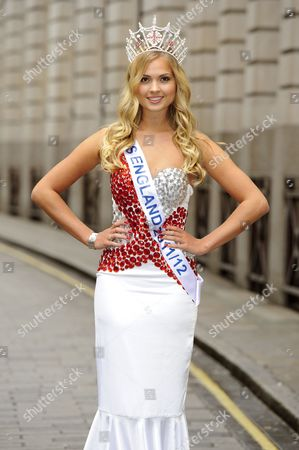 Alize Lily Mounter, current Miss England