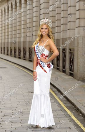 Editorial image of Charity auction of Miss England dresses, London,Britain - 09 May 2012