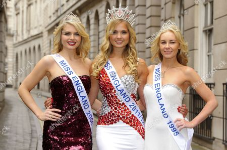 Editorial picture of Charity auction of Miss England dresses, London,Britain - 09 May 2012