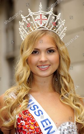 Stock Photo of Alize Lily Mounter, current Miss England