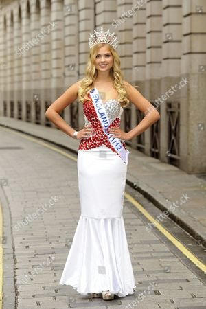 Stock Image of Alize Lily Mounter, current Miss England