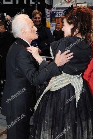 Richard D Zanuck and Helena Bonham Carter