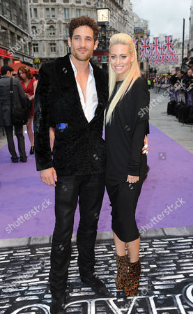 Kevin Schmidt and Kimberly Wyatt