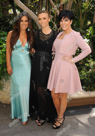 Jillian Reynolds, Guiliana Rancic and Kris Jenner