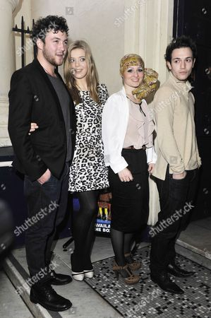 Stock Picture of David Julien, Becky Hill, Toni Warne and Aleks Josh