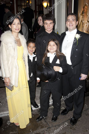 Kenny Wax (Producer) and family