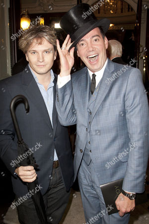 Stock Picture of Ben Goddard and Craig Revel Horwood