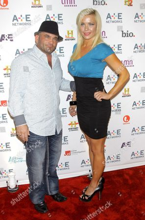 Stock Image of Russell Hantz and Kristen Bredehoeft