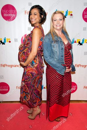 Editorial photo of 13th Annual Biggest Baby Shower Ever, New York, America - 09 May 2012