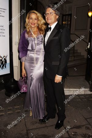 Warwick Hemsley and Jerry Hall