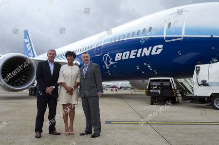 Steve Ridgway, Chief Execuutive Virgin Atlantic Airways, Chris Browne, Managing Director Thomson Airways and Willie Walsh Chief Exec IAG