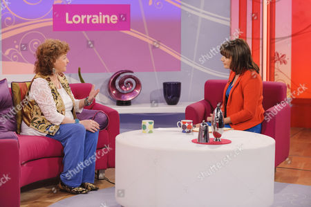 Tricia Ford and Lorraine Kelly