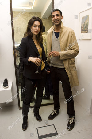 Editorial picture of House of A. Sauvage Store Launch, London, Britain - 09 May 2012