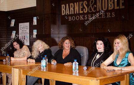 Stock Picture of Michele Lee, Connie Stevens, Lainie Kazan, Barbara Van Orden, Patty Farmer