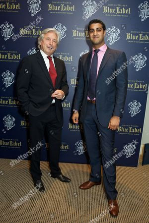 Johnnie Walker Blue Lable Dinner at Lords Cricket Club, London, Britain - 09 May 2012 新闻传媒图片