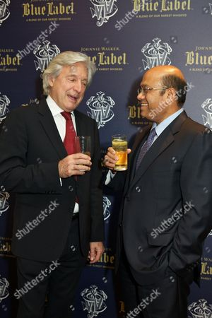 Foto editorial de Johnnie Walker Blue Lable Dinner at Lords Cricket Club, London, Britain - 09 May 2012