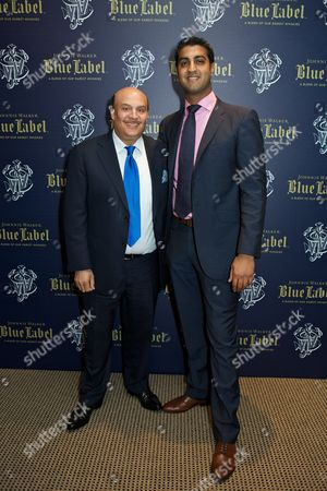 Editorial picture of Johnnie Walker Blue Lable Dinner at Lords Cricket Club, London, Britain - 09 May 2012