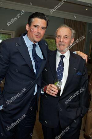 Ed Taylor and Mark Shand