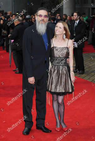Stock Image of Larry Charles and guest