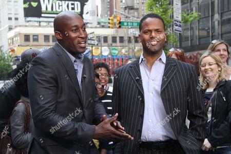 Jermaine Paul and AJ Calloway