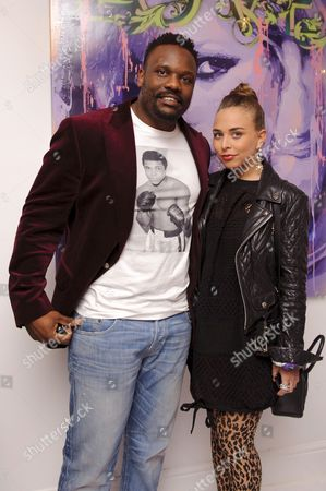 Dereck Chisora and Chloe Green