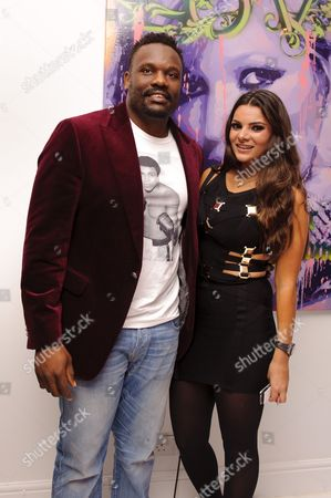 Dereck Chisora and guest