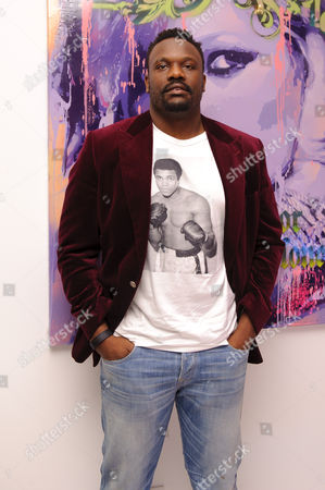 Stock Picture of Dereck Chisora