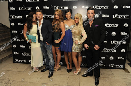 Vicky Pattison, Sophie Kasaei, Holly Hagan, Charlotte Letitia Crosby and James Tindle of Geordie Shore
