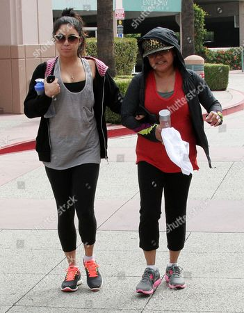 Vanessa Hudgens and Gina Guangco