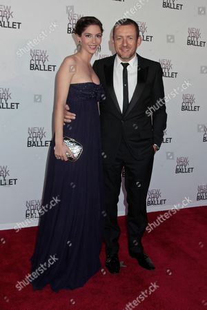 Dany Boon with wife Yael Boon