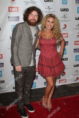 Casey Abrams and Haley Reinhart