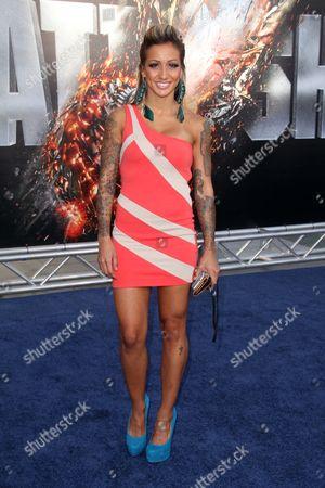 Editorial image of 'Battleship' film premiere, Los Angeles, America - 10 May 2012