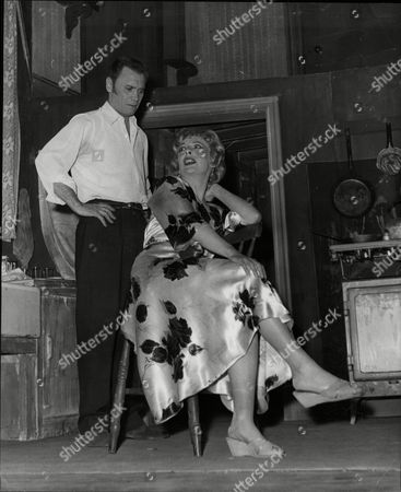 Editorial photo of Dress Rehearsal Of A Lodging For A Bride At The Westminster Theatre Alfie Thomas Heathcote And Edna Jane Hylton